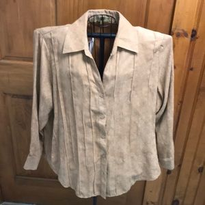 NWT- Notations Blouse